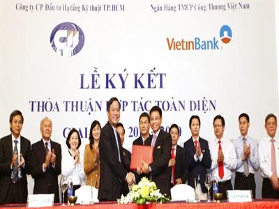 VietinBank cấp giới hạn tín dụng hơn 1.724 tỷ đồng cho CII