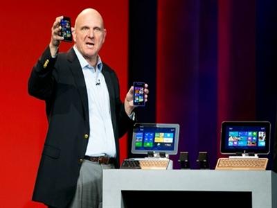 Steve Ballmer bất ngờ rút khỏi Microsoft