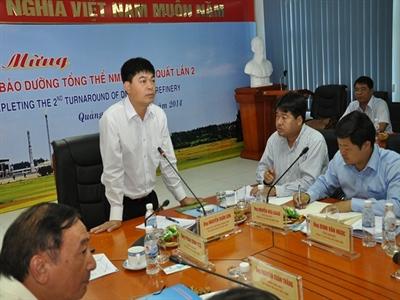 Chủ tịch PVN: Lọc hóa dầu Bình Sơn cần giảm chi phí sản xuất