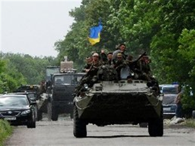 Bí ẩn bên thứ 3 tham chiến tại miền Đông Ukraine