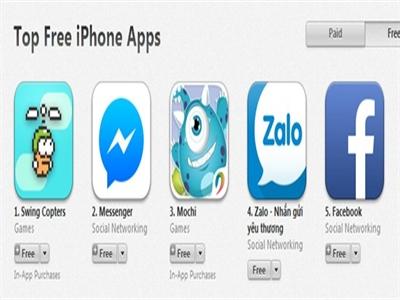 Game kế nhiệm Flappy Bird lên top đầu App Store tại Việt Nam