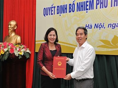 Công bố Quyết định bổ nhiệm Phó Thống đốc NHNN