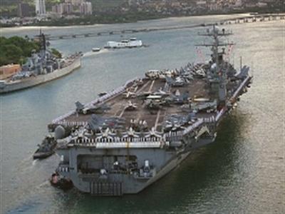 Mỹ điều thêm tàu sân bay tới Thái Bình Dương