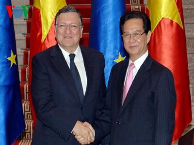 Toàn văn Tuyên bố báo chí chung Việt Nam - EU
