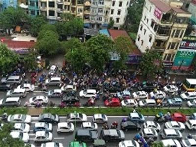 Hà Nội cấm ôtô trên tuyến Xuân Thủy, Cầu Giấy trong 3 tháng