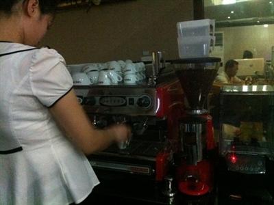 Kinh doanh cà phê ở Triều Tiên