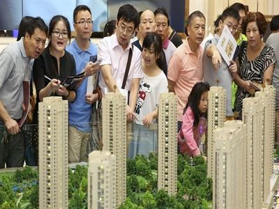 Rủi ro vỡ nợ trên thị trường bất động sản Trung Quốc tăng cao
