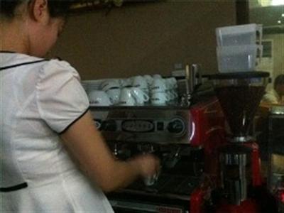 Dân Triều Tiên đã bắt đầu thích cà phê
