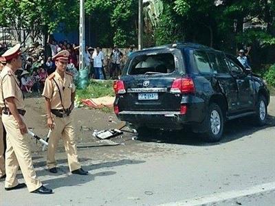 Trung tướng công an tử nạn khi xe công vụ va chạm xe khách
