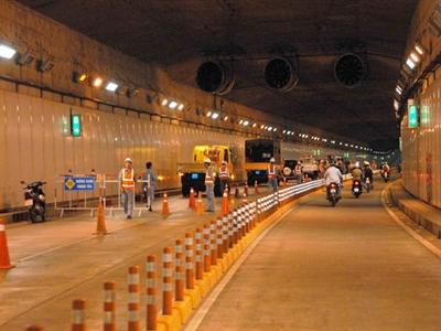 4 tuyến đường trung tâm và đường hầm Thủ Thiêm tạm dừng lưu thông