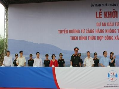 Vietcombank thu xếp hơn 10.400 tỷ đồng cho dự án nối sân bay Thọ Xuân - Nghi Sơn