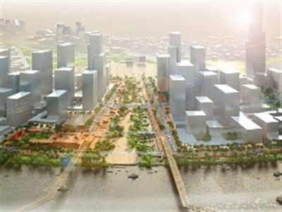 Phối cảnh quảng trường 2.000 tỷ lớn nhất Việt Nam