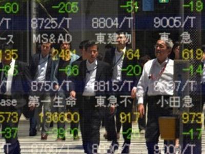 Chứng khoán châu Á rơi khỏi mốc cao nhất 1 tháng