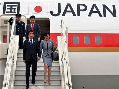 Đường bay chuyên cơ của Thủ tướng Nhật Bản bị công khai trên mạng