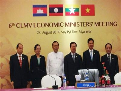 Bộ trưởng Kinh tế các nước CLMV thảo luận các đề xuất dự án hợp tác mới