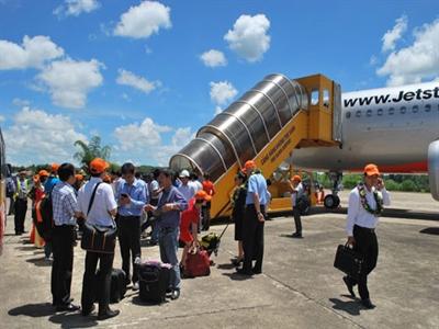 Jetstar Pacific lần đầu tiên cất cánh đến Thanh Hóa