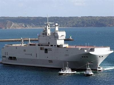 Pháp ra điều kiện bàn giao tàu chiến cho Nga