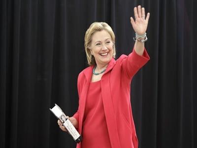 Bà Hillary Clinton quyết định tranh cử tổng thống Mỹ