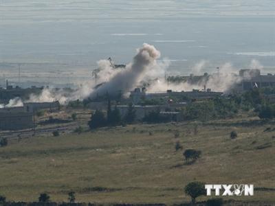 Syria không kích thành trì của phe thánh chiến, 53 người chết