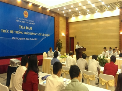 TS. Nguyễn Đức Thành: Việt Nam có 4 lựa chọn để xử lý nợ xấu hiện nay