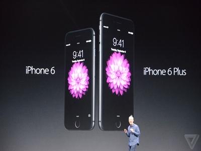 Apple chính thức ra mắt iPhone 6, iPhone 6 Plus và Apple Watch