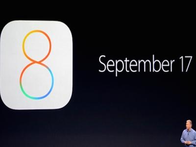 iOS 8 bản chính thức sẽ phát hành ngày 17/9