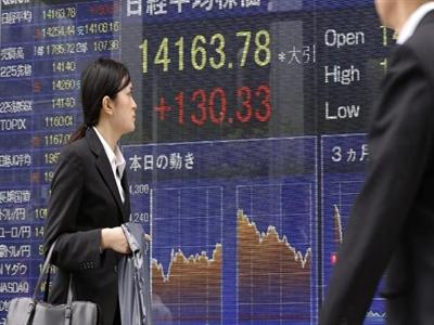 Chứng khoán châu Á giảm 6 ngày liên tiếp