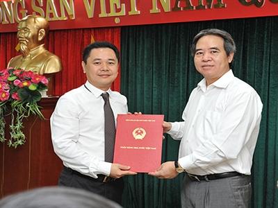 Ông Nguyễn Ngọc Cảnh được bổ nhiệm làm Vụ trưởng Vụ Quản lý Ngoại hối
