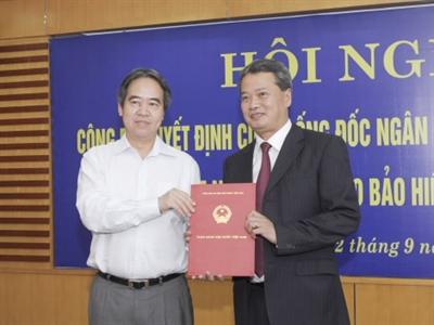 Ông Nguyễn Quang Huy được bổ nhiệm Tổng Giám đốc Bảo hiểm Tiền gửi Việt Nam