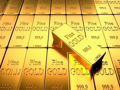 Giá vàng xuống thấp nhất 8 tháng do nhu cầu vật chất yếu