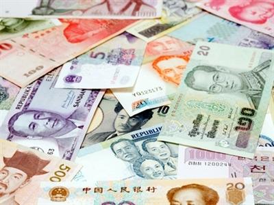 Tiền tệ châu Á ghi nhận tuần giảm mạnh nhất 5 tháng