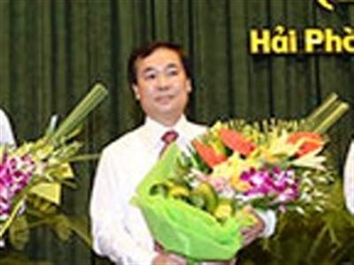 Ông Lê Thanh Sơn được phê chuẩn làm Phó Chủ tịch Hải Phòng