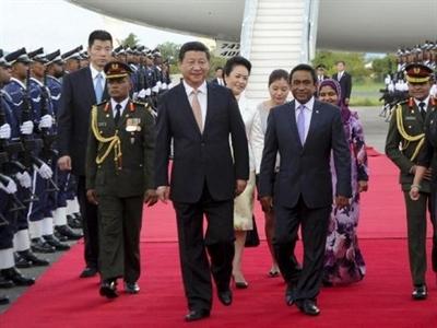 Chủ tịch Trung Quốc Tập Cận Bình bắt đầu công du Nam Á