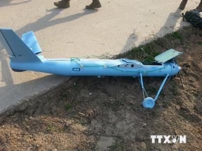 Phát hiện xác máy bay không người lái có thể của Triều Tiên