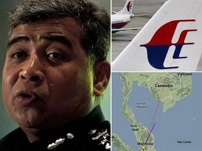 Tướng Indonesia tuyên bố biết chuyện xảy ra với máy bay MH370