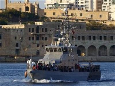 Đắm tàu gần Malta, gần 500 người bị chết đuối