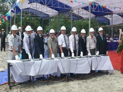 Thành Thành Công và công ty thành viên sở hữu gần 75% cổ phần công ty chủ quản dự án Cảng Vịnh Đầm