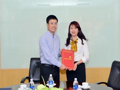 Vietcombank bổ nhiệm Phó giám đốc Trung tâm thẻ Hội sở chính