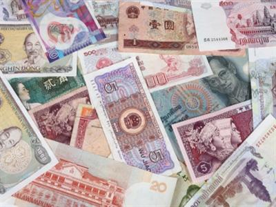 Tiền tệ châu Á ghi nhận đợt giảm giá dài nhất 8 tháng