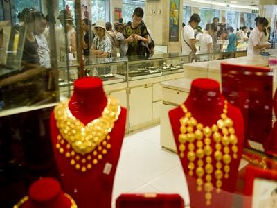 Nhu cầu vàng của Trung Quốc giảm mạnh
