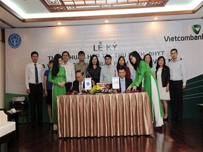 Vietcombank và Bảo hiểm Xã hội Việt Nam ký thỏa thuận hợp tác