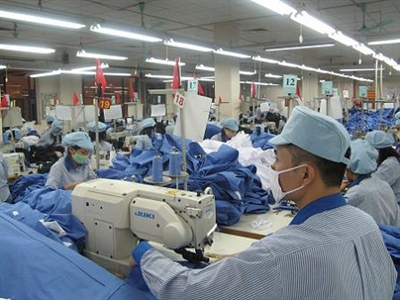 Kim ngạch xuất khẩu dệt may 8 tháng tăng hơn 19% so với cùng kỳ năm 2013
