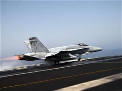Hình ảnh đầu tiên về đợt không kích của Mỹ và đồng minh vào Syria