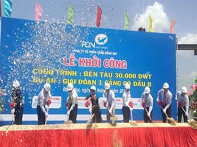 Đồng Nai khởi công bến tàu 30.000 DWT