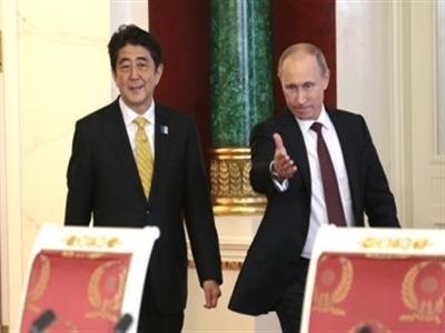 Kyodo: Thủ tướng Abe từ chối tiếp Tổng thống Putin