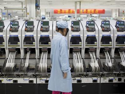 Lĩnh vực sản xuất Trung Quốc tăng trưởng vượt dự báo