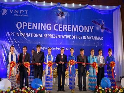 VNPT khai trương văn phòng đại diện tại Myanmar