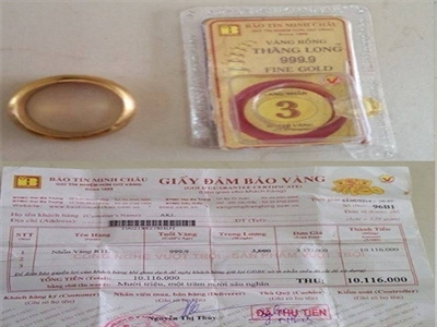 Bị tố bán vàng giả, Bảo Tín Minh Châu tung bằng chứng phản bác