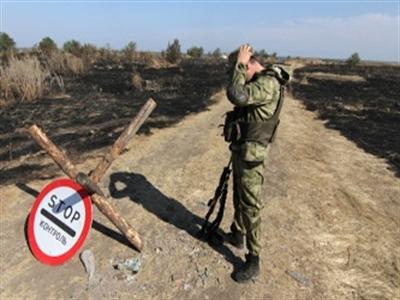 Ukraine đã đóng một phần biên giới với Nga