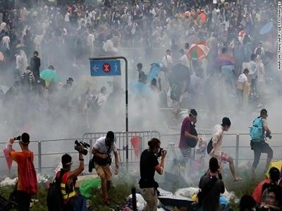 Biểu tình dữ dội nhất lịch sử Hong Kong qua ảnh
